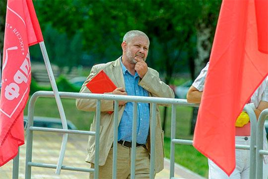 Первый секретарь челнинского отделения КПРФ, депутат горсовета Владимир Васев оставил свой пост