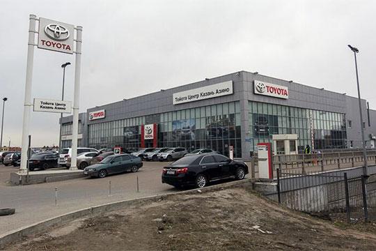Спрос на Toyota в республике просел 19% до 576 авто, в Казани — на 9%