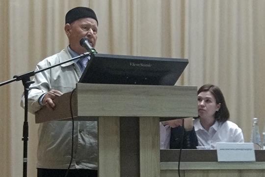 Гамир Исмагилов:«Давайте мытоже отдадимся, потому что унас выхода нет, все равно завод построят. Ноотдаваться надо все-таки накаких-то условиях»
