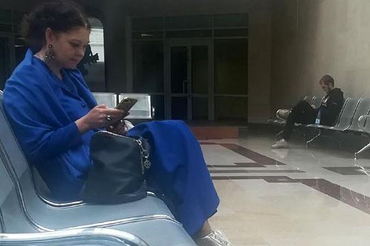 Адель Аскаров и его адвокат Мария Замятина
