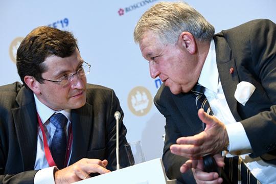 Губернатор Никитин (слева) сказал, что будет выступать как «радикал». Иобрушился наместное отделение Росстата