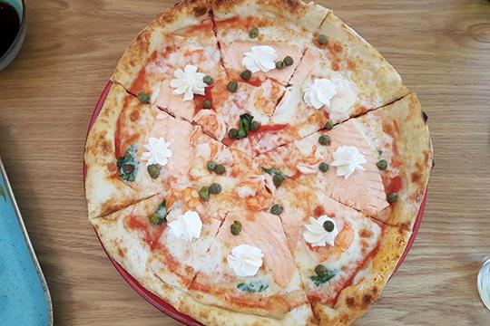 Пицца сама неособо: вовсяком случае, вчасти теста