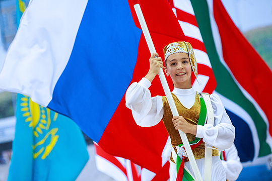Казань примет первые Игры странСНГ. Приедет даже Украина?