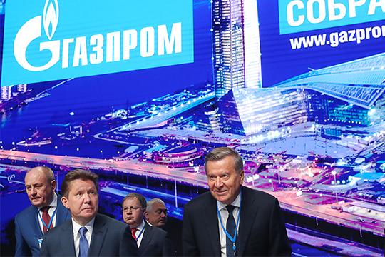 После годового собрания акционеров «Газпрома», где Алексей Миллер (слева) отчитался о рекордных финансовых показателях за 2018 год, решилась судьба региональных структур компании после «внутреннего аудита»