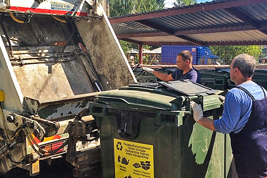 Совет попросьбе регоператоров предложил выйти синициативой овведении вРТадминистративной ответственности завыброс предпринимателями мусора вконтейнеры жилых домов ипоселков