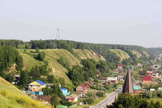 Место резиденции хана Кучума. Сейчас там установлен памятный знак Ермаку. Тобольск