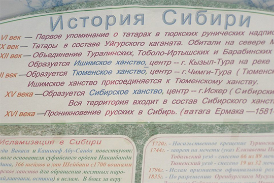 История татар Сибири в одном из музеев
