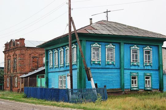 Татарская деревня в Сибири