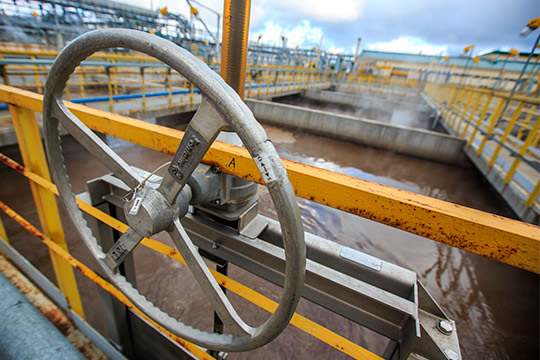 Реконструкция ОСвпоследние годы осуществлялась засчет средств бюджетаРТ. Так, в2017–2018 годах был построен или капитально отремонтирован 61 объект водоотведения на317,6млн рублей