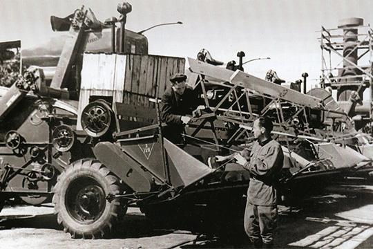 Комбайн С-4