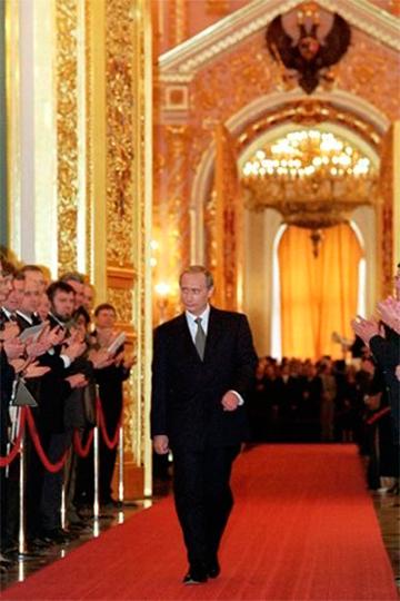 Торжественная церемония вступления Владимира Путина вдолжность Президента России.7 мая 2000 года