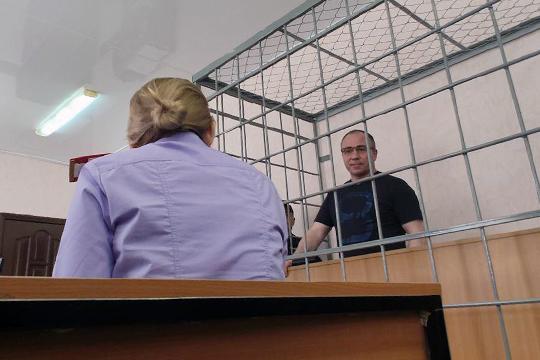 Михаил Мартыненко (на фото) передавал деньги сотруднице БТИ и контролировал работу схемы