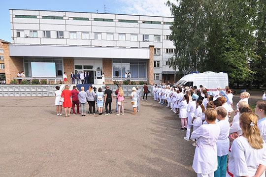 Отделение нашесть койкомест обошлось ПАО «Нижнекамскнефтехим» в113млн рублей