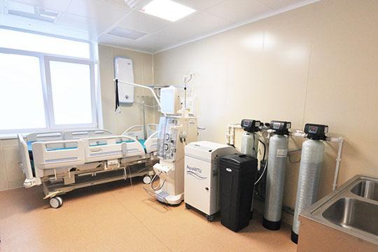 Впалатах с«парящими» кроватями можно выхаживать самых тяжелых больных