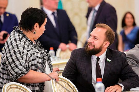 Рушания Бильгильдеева иАльмир Михеев