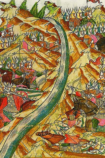 Александр Пыжиков, изучая первую историческую встречу тюркского и славянского мира, по-своему толкует вроде бы общеизвестные факты «татаро-монгольского нашествия»