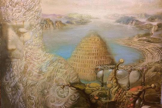 «Люди строили высокую башню, чтобы быть наравне с Богом, а Он разрушил ее и сделал так, чтобы люди больше не смогли между собой договориться о подобном»