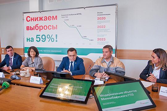 О том, что на самом деле делается на МГПЗ, журналистам рассказали четыре спикера: Петр Кубарев, Ольга Гудкова, Сирень Сахапов и Ильшат Шарипов (слева направо)