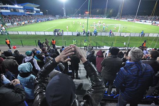 «Набережные Челны всегда были футбольным городом. Впервом дивизионе команда раньше регулярно занимала третье-четвёртое место»