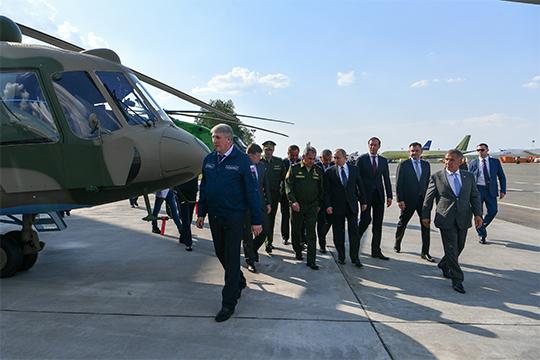 НаКазанском вертолетном заводе едвали недонуля упадет тема военных Ми-8.Вотрасли, сложилась такая ситуация, что все улучшения поМи-8 холдинг «Вертолеты России» отдавал впроизводство только Улан-Удэнскому авиазаводу