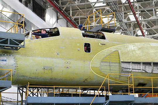 Казанскому авиазаводу внынешнем его состоянии дай бог справиться симеющимися заказами.Единственный контракт нановые самолеты — это поставка до2027 года 10 новых Ту-160