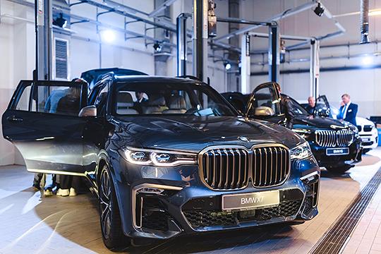 Мощный рывок «бело-синие» совершили в Казани. Здесь регистрации автомобилей BMW увеличились на 22%