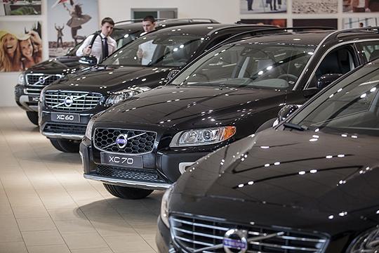 Отменную прибавку на 48% или 68 единиц до 209 авто в Татарстане оформил шведско-китайский Volvo
