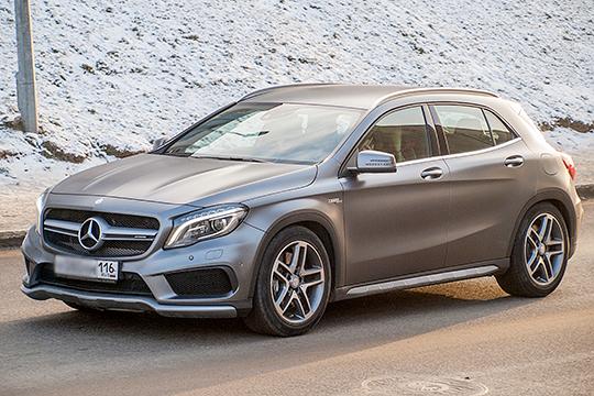 Ситуация в модельном ряду Mercedes похожа на картину у BMW в том плане, что и тут основной тяговой силой стали среднеразмерные и компактные кроссоверы