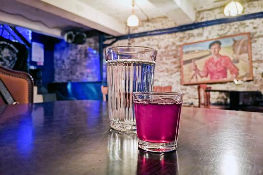 Алкогольный коктейль без названия