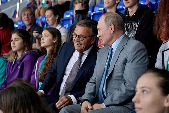 Рене Фазель — большой друг российского хоккея и Владимира Путина