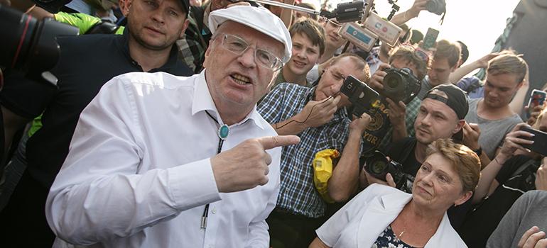Скандалы сучастием Жириновского иСоловьева