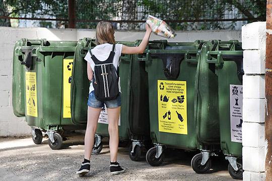 Как показал опрос, 70% казанцевточно готовыделить свои отходы поконтейнерам— лишьбы таковые появились вихдворах