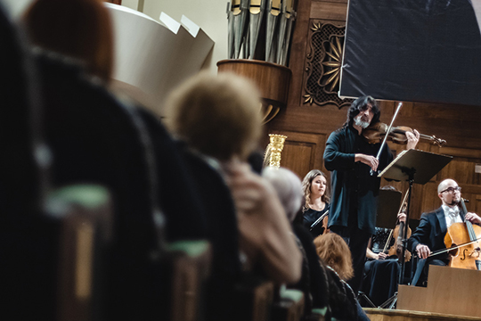 «Это огромное счастье, что патриарх российской композиторской школы здесь!»