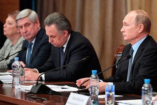 Тишков – Путину: «Все руководящие посты заняты представителями титульной национальности…»
