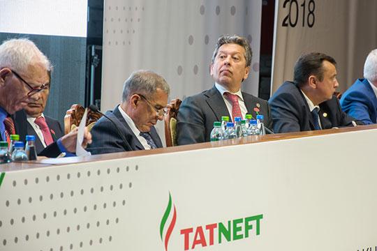 Уномера один экономики республики «Татнефти», напомним, официально нет контролирующего акционера, нокрупнейшим бенефициаром выступает правительство Татарстана