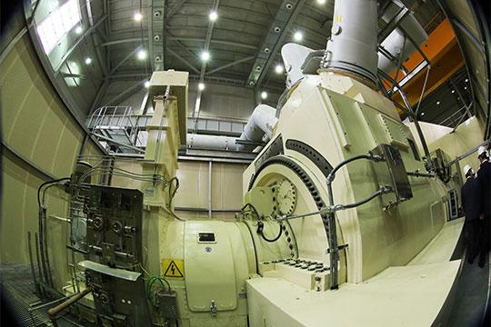 Изключевых проектовКЭР— монтаж газотурбинной установки отGEмощностью 386,84 МВт наТЭЦ-3
