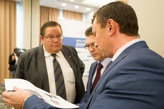 Афонин довольно активно себя проявил вкритический момент, связанный ссоциальным напряжением вовремя кризиса вбанковском секторе Татарстана