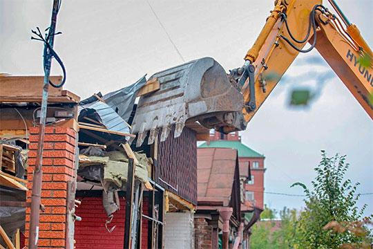 «Вопросы реконструкции территории исноса отдельных строений неизбежно будут затронуты»