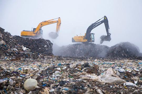 Емкость мусорных полигонов— год-полтора. Часть полигонов всоответствии стерриториальной схемой должна закрыться уже вэтом году