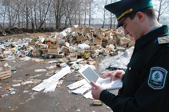 Подрядчику нет никакого резона вываливать мусор вближайший овраг. Оплата завывоз мусора поступит только втом случае, если онпришел наофициальный полигон ТКО