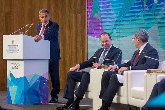Отдельно Минниханов остановился напилотном проекте сети 5G ичемпионате WorldSkills спросьбой оказать поддержку иэтим мероприятиям тоже