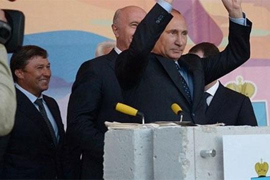 По слухам, во время последнего визита в Казань Владимира Путина будто бы, наконец, удалось договориться о выплате ООО «ПСО Казань» денег из федерального бюджета