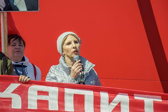 «Коммунисты России» в лице Татьяны Гурьевой тоже начала подготовку к выборной кампании