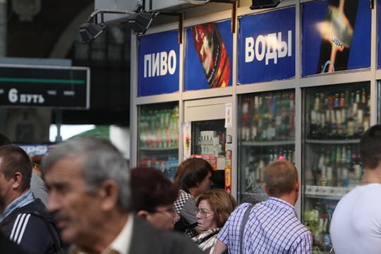 На фоне роста продаж безалкогольного пива менеджеры ТСП в мае зафиксировали по республике снижение продаж крепкого алкоголя, особенно в сельской местности, чего раньше никогда не было