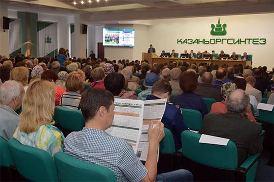 Вчера ПАО «Казаньоргсинтез» сообщило, что АО «Связьинвестнефтехим» довел свою долю в его уставном капитале до 21,176%.