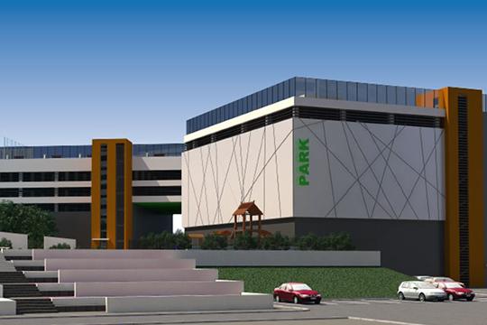 Застройщик обозначил снять вопрос по парковочным местам для жильцов и посетителей торгового цента Sunrise Сity, введя в эксплуатацию семиэтажную парковку