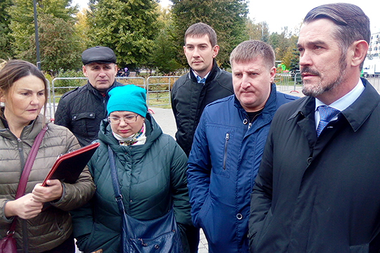 Юрий Никишин напомнил, что митинг был организован из-за систематических нарушений установленных законом сроков выплат за приобретаемые средства реабилитации