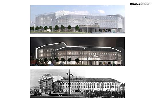 Куликовский утверждает, что предлагаемый проект воссоздает облик существовавших на площади Тукая здания «Татпотребсоюза», утерянных «Музуровских номеров» и примыкавшим к ним двух жилых зданий
