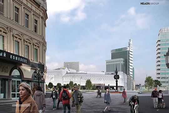 «Площадь Тукая — общественно значимое место, где собирается множество людей. И оно должно быть более приветливым, светлым»