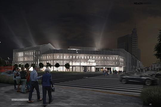 «Особенно выигрышно торговый центр будет смотреться ночью, благодаря свету, струящемуся из окон воссозданных зданий», - отметила Тухватуллина